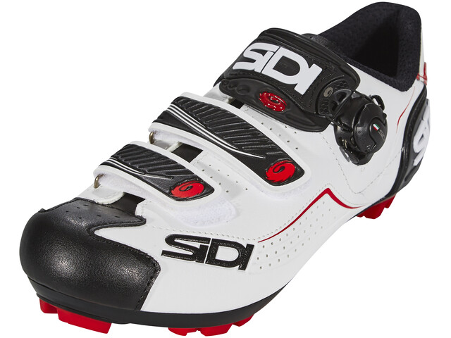 Sidi Trace Shoes Men White/Black/Red